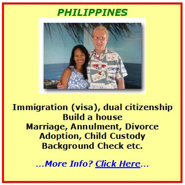 american requesting a divorce in the Philippines