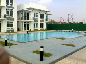 Philippine swimming pool installation
